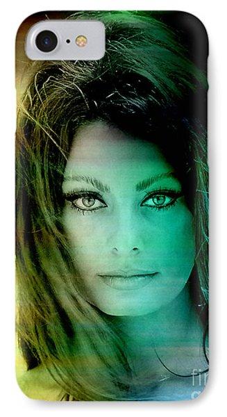 Sophia Loren IPhone 7 Case by Marvin Blaine