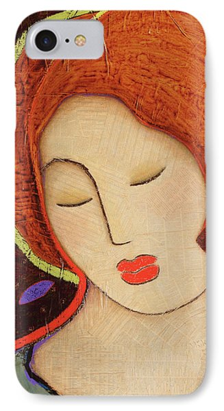 IPhone Case featuring the painting Soul Memory by Gloria Rothrock