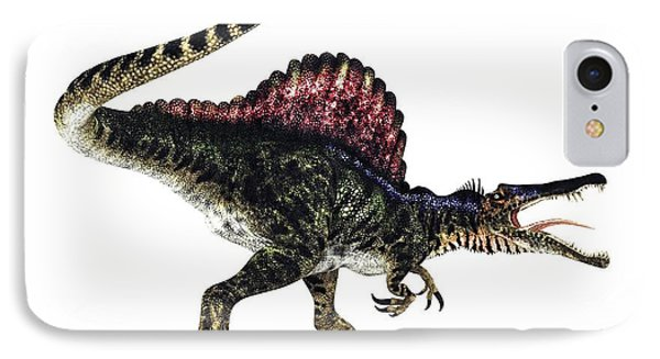Spinosaurus Dinosaur, Artwork Phone Case by Animate4.comscience Photo Libary