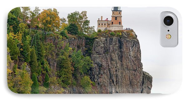 Split Rock Lighthouse IPhone Case by Steve Stuller