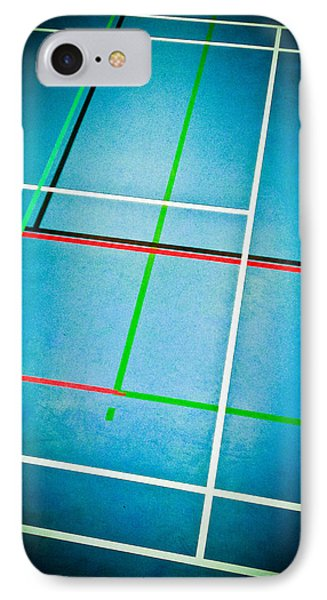 Sports Hall IPhone Case by Tom Gowanlock