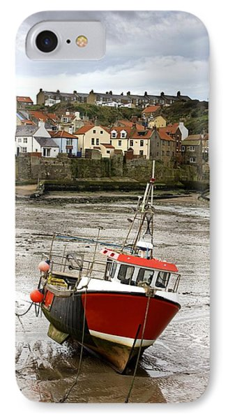 Staithes, North Yorkshire, England Phone Case by John Short