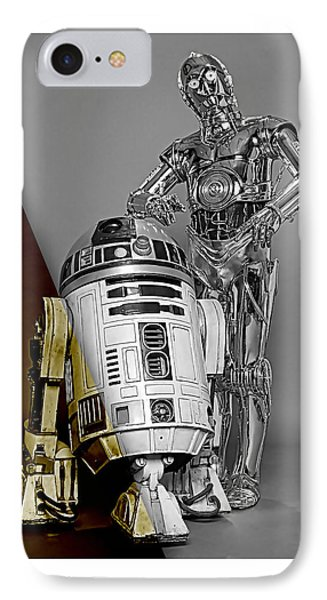 Star Wars C3po And R2d2 Collection IPhone Case