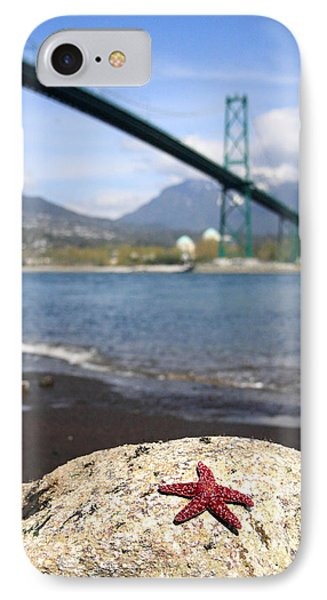 Starfish Stanley Park Vancouver Phone Case by Pierre Leclerc Photography
