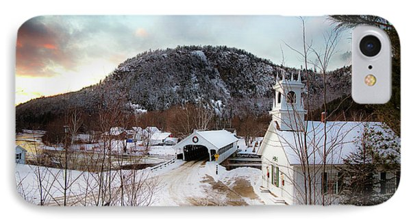 IPhone Case featuring the photograph Stark New Hampshire by Robert Clifford