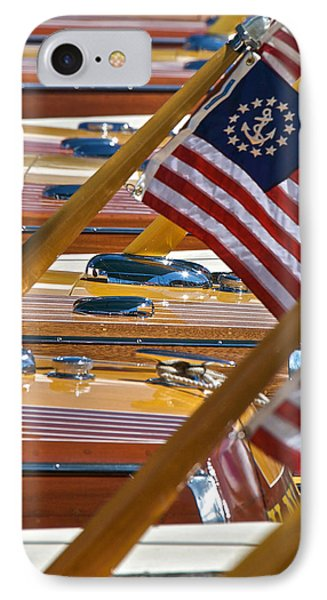Stars And Stripes On The Water IPhone Case