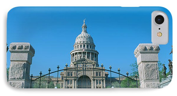 State Capitol, Austin, Texas IPhone Case by Panoramic Images