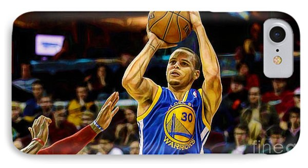 Steph Curry Collection IPhone 7 Case by Marvin Blaine