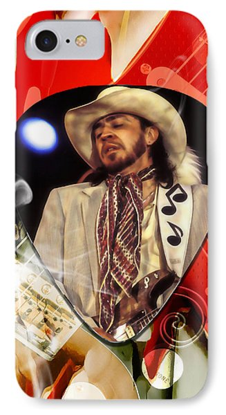 Stevie Ray Vaughan Art IPhone Case by Marvin Blaine