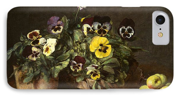 Still Life With Pansies IPhone Case