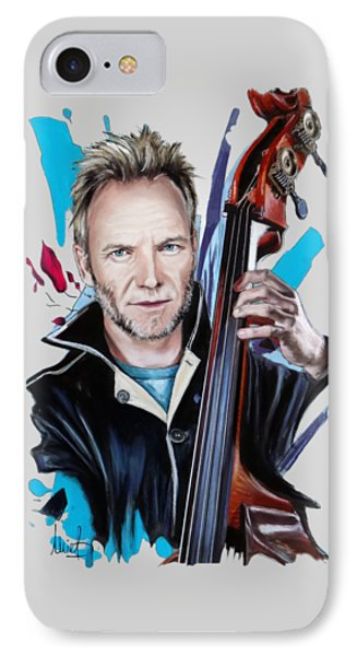 Sting IPhone Case by Melanie D