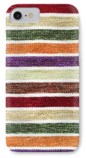 Striped Textile IPhone Case by Tom Gowanlock