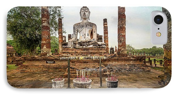 IPhone Case featuring the photograph Sukhothai Buddha by Adrian Evans