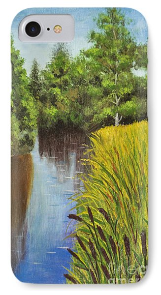 Summer Landscape, Painting IPhone Case
