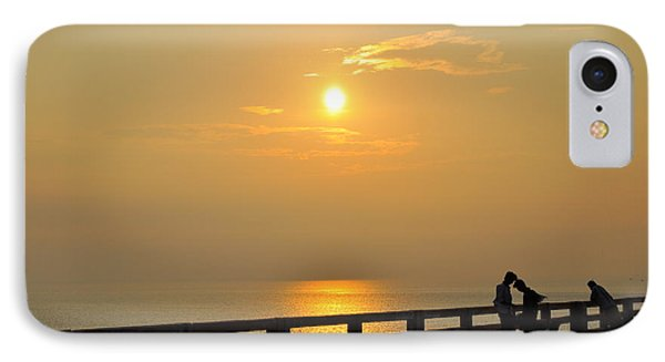 Sunset At Rameshwaram India IPhone Case