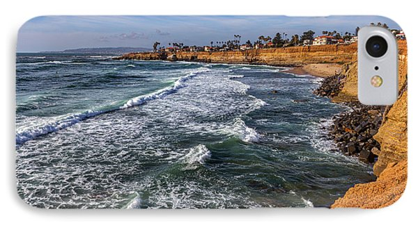 Sunset Cliffs 2 IPhone Case by Peter Tellone