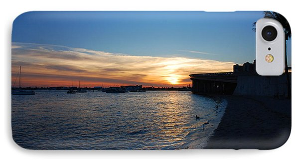 IPhone Case featuring the photograph 2- Sunset In Paradise by Joseph Keane