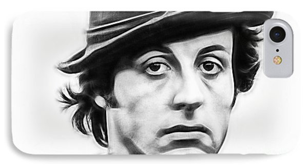 Sylvester Stallone Collection IPhone Case by Marvin Blaine