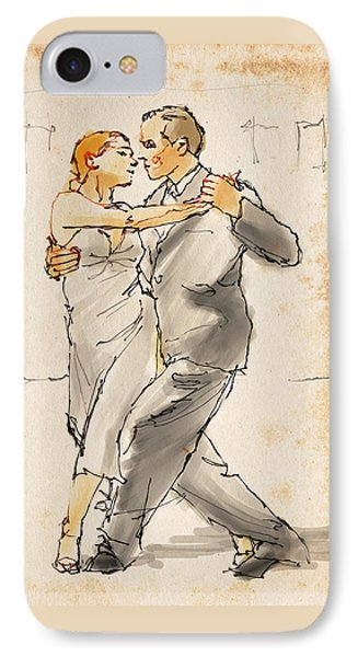 Tango  IPhone Case by H James Hoff