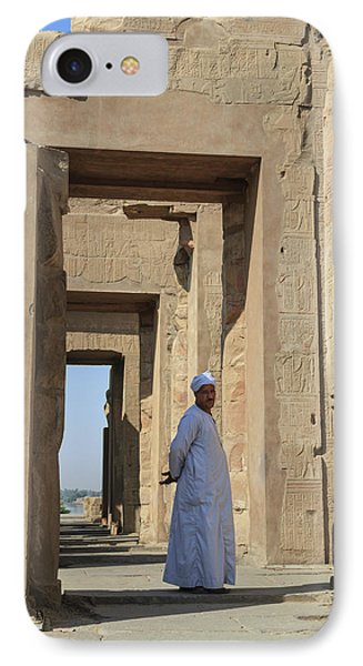 IPhone Case featuring the photograph Temple Of Kom Ombo by Silvia Bruno