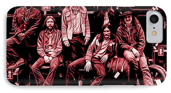 The Allman Brothers Collection IPhone Case by Marvin Blaine