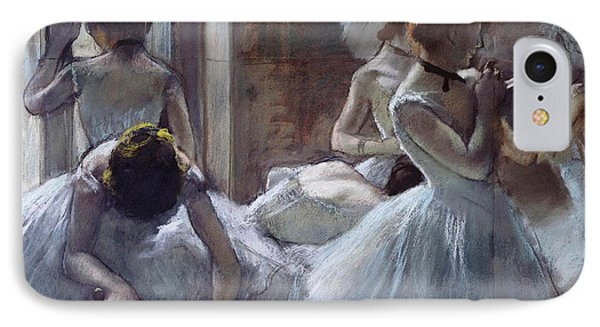 The Ballet Class IPhone Case by Edgar Degas