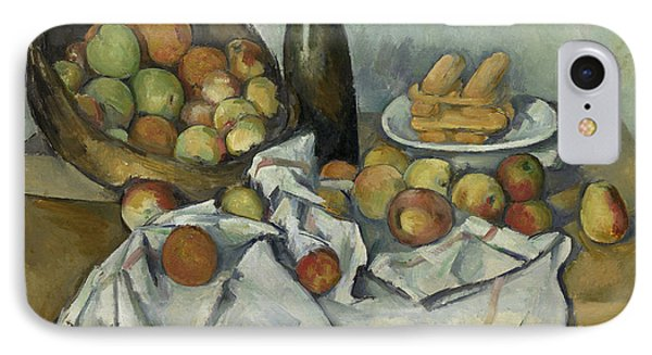 The Basket Of Apples, IPhone Case by Paul Cezanne