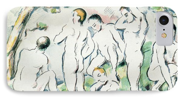 The Bathers IPhone Case by Paul Cezanne