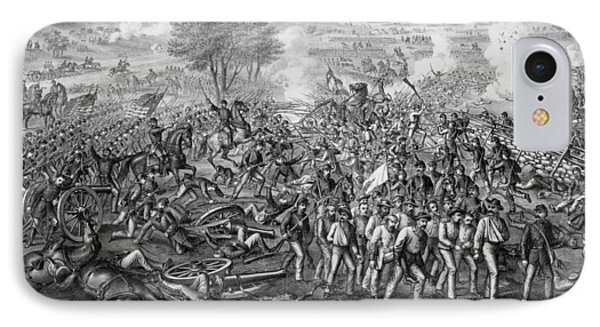 The Battle Of Gettysburg IPhone Case