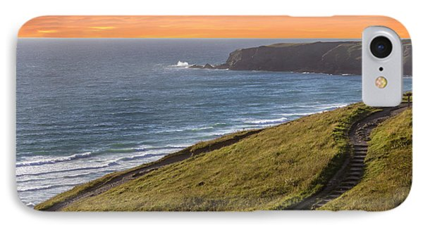 The Cornish Coast IPhone Case by Martin Newman