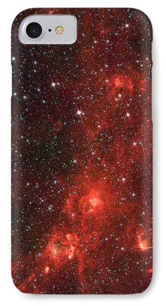 The Dragon Fish Nebula IPhone Case by American School