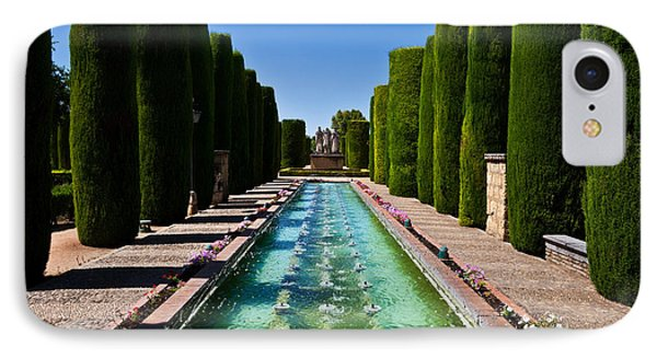 The Gardens Of The Alcazar De Los Reyes IPhone Case by Panoramic Images