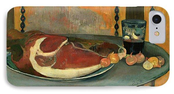 The Ham IPhone Case by Paul Gauguin