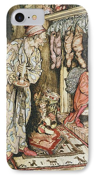 The Night Before Christmas IPhone Case by Arthur Rackham