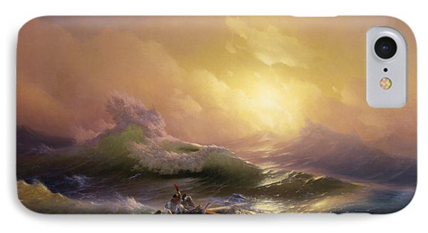 The Ninth Wave IPhone Case by Ivan Aivazovsky