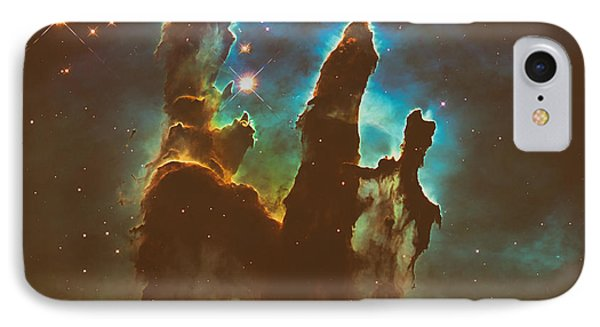 The Pillars Of Creation IPhone Case by Mountain Dreams