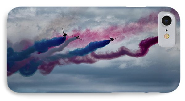 Airplane iPhone 7 Case - The Red Arrows by Smart Aviation