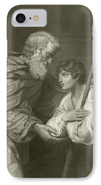 The Return Of The Prodigal Son IPhone Case by English School