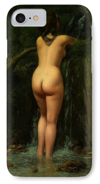 The Source  IPhone Case by Gustave Courbet