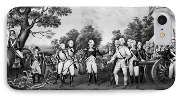 The Surrender Of General Burgoyne IPhone Case by War Is Hell Store