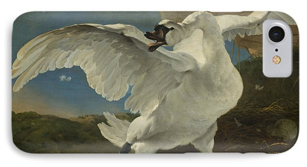 The Threatened Swan IPhone Case
