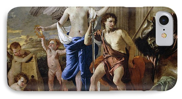 The Triumph Of David IPhone Case by Nicolas Poussin