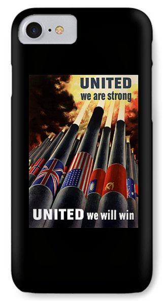 The United Nations Fight For Freedom IPhone Case by War Is Hell Store