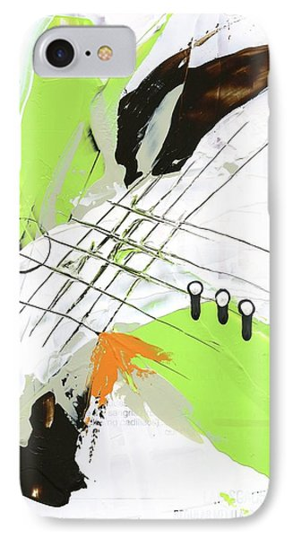 IPhone Case featuring the painting Three Color Palette by Michal Mitak Mahgerefteh