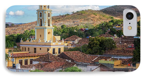 IPhone Case featuring the photograph Trinidad Cuba Cityscape II by Joan Carroll