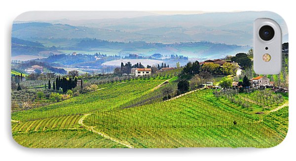 Tuscany Landscape IPhone Case by Dutourdumonde Photography