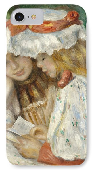 Two Girls Reading IPhone Case