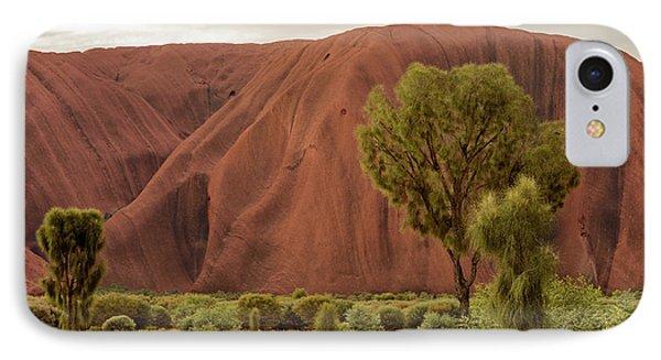 IPhone Case featuring the photograph Uluru 08 by Werner Padarin