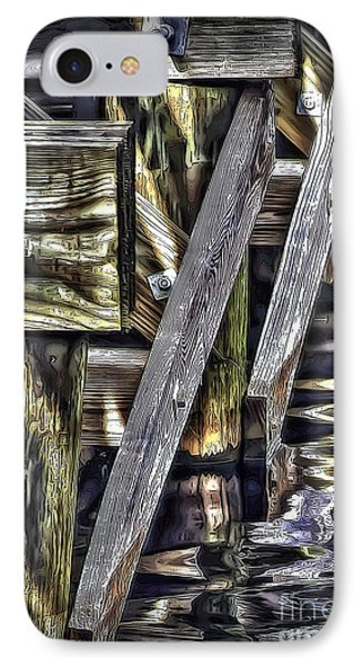 Under The Boardwalk Phone Case by Walt Foegelle