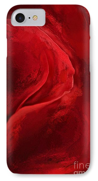 Unfurling Beauty IIi IPhone Case